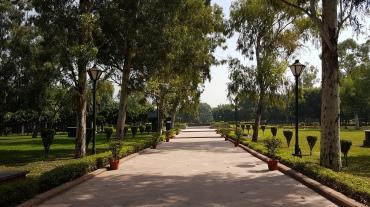 Jardin du mémorial