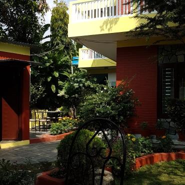 Petit jardin de la guest house