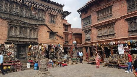 Les boutiques de la Stupa