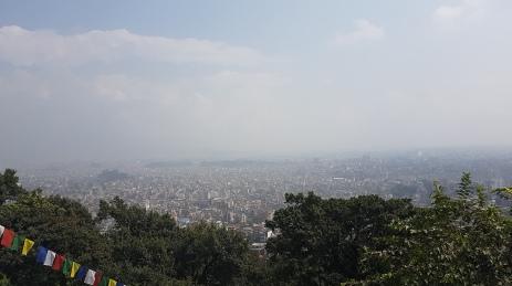 Au dessus de la pollution...