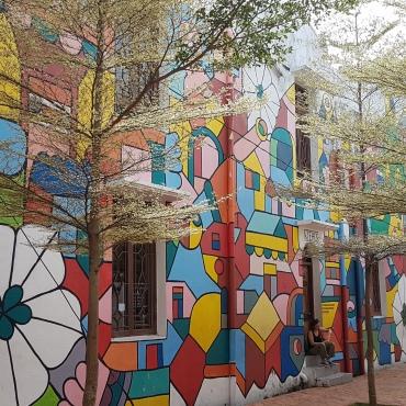 Sublime fresque murale !!