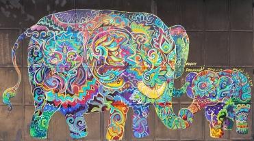 Un bel éléphant