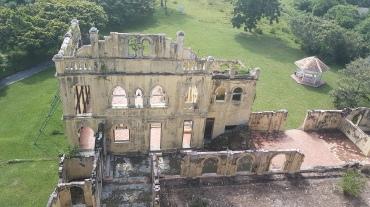 Vue du toit du Château (oui on peut y monter!)