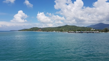 Arrivée à Ko Pha Ngan