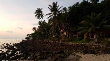 Le bout de la plage