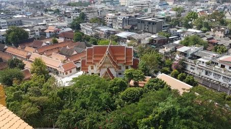 Vue sur un temple