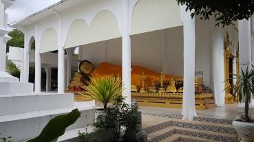 Wat Chetwan et son bouddha couché