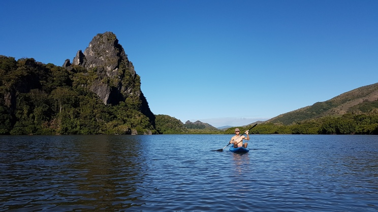 Petit kayakiste prend la pause <3