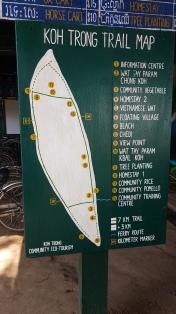 Plan de l'île