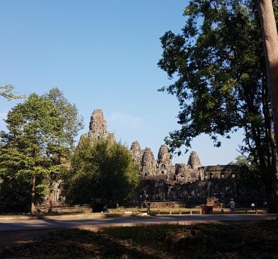 Temple Bayon depuis l'extérieur
