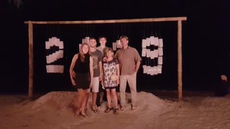 Débuter 2019 sur la sable